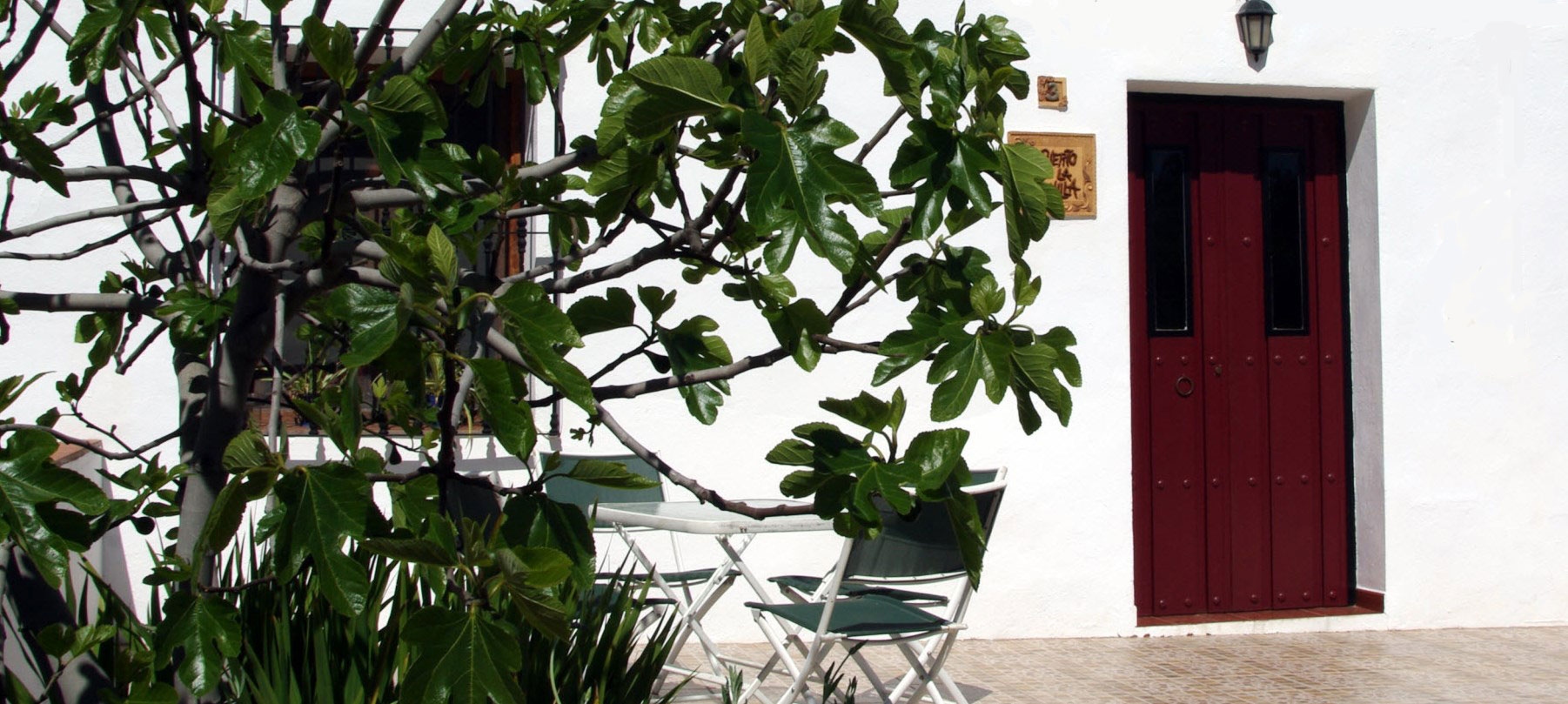 Holiday Home Comares with Fig tree